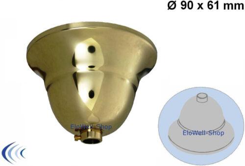 Lampes Suspension Rosace Plafond 90x61 flamand Laiton Poli aufhängerohr M Ring