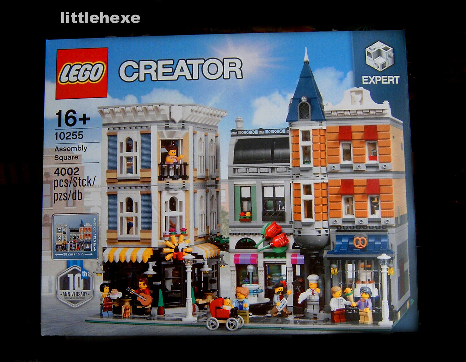 Lego Creator Expert 10255 vie urbaine Nouveau Neuf dans sa boîte