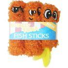 Petstages Orange Fish Sticks Catnip Toy Small