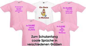 Kinder T Shirt Einschulung Schulanfang Schulbeginn Abc Schütze Coole