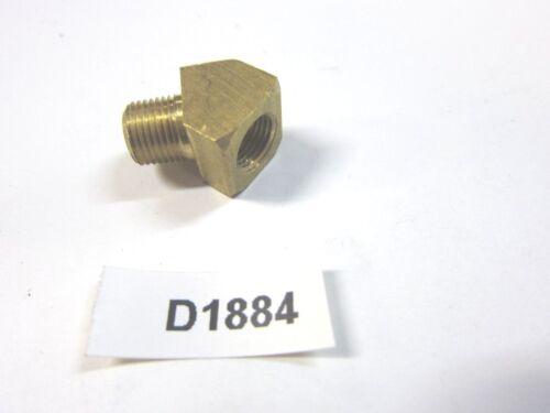 "Brass Fitting 1//8/"" 45 degree Street Elbow  inv D1884"