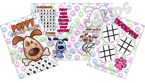Pack-of-12-Puppy-Paws-Fun-and-Games-Activity-Sheets-Party-Bag-Books-Fillers
