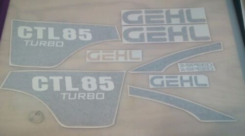 sticker kit made in USA NEW HOLLAND CTL85 CTL 85 Replacement DECAL