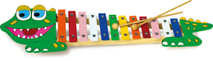 Small-foot-design-Xylophone-034-Crocodile-034-from-3-years-Stock-Clearance