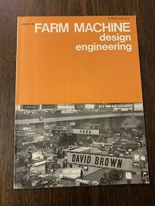 VINTAGE FARM MACHINE DESIGN ENGINEERING MAGAZINE-JANUARY 1968