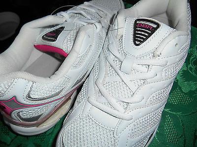 OBR para mujer Zapatillas Con Cordones Rosa y Blanco Tallas 3,4,5,6,7,8 como se muestra