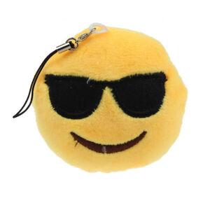 Porte Cle Emoji Smiley Lunettes De Soleil Ebay