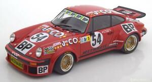 Porsche 934 # 54 24h Le Mans 1976 Striebig Verney Kirschoffer Minichamps 1/18