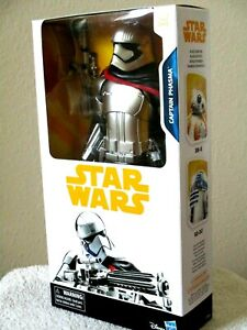 Star Wars Captain Phasma 12in Action Figure Toy Disney Hasbro The Last Jedi for sale online