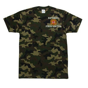 PRO-CLUB-CAMO-Camouflage-RETIRED-FIRE-FIGHTERS-FD-LOGO-T-SHIRT-T-SHIRT
