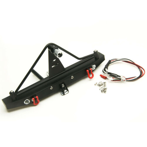 Rear Bumper Winch Mount Shackle For Axial SCX10 II AX90046 90047 1//10 RC Crawler