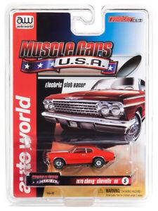 Auto-World-Sc340-Fulmini-Jet-Ultra-G-Muscolo-Macchine-USA-1970-Chevy