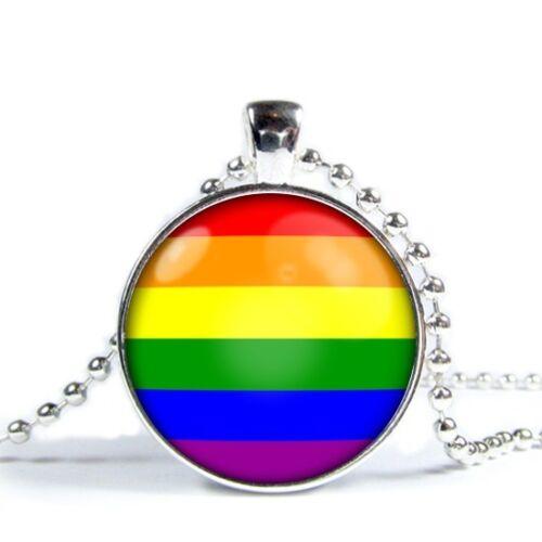 LGB//Gay Pride Rainbow Necklace