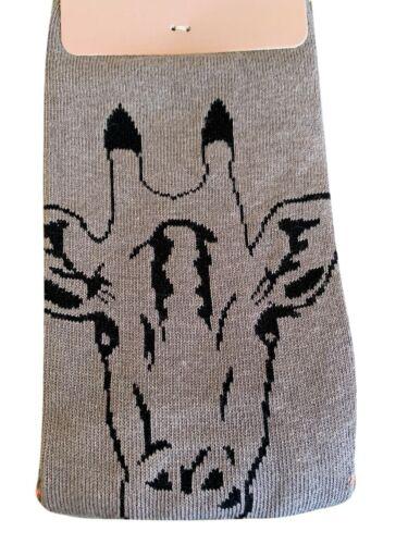 Giraffe Chaussettes 2 Paires Mesdames Gris Jaune moutarde Violet Bambou Coton mélangé