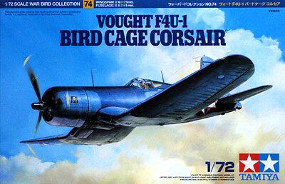 Tamiya 60774 Vought F4U-1 Bird Cage Corsair 1/72 Kit