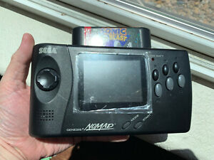 Sega-Genesis-Nomad-System-LCD-Screen-Upgrade-Glass-Lens-Excellent-Condition