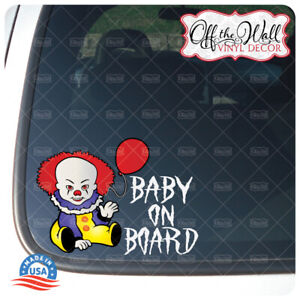 Baby-Pennywise-034-Baby-Kid-or-Kids-on-Board-034-BUYERS-CHOICE-Sign-PW1DCV
