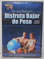 Dr Jay Polmar's Disfruta Bajar De Peso 4-disc Cd Set - Lose Weight By Hypnosis