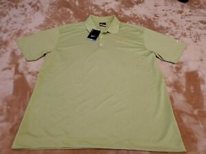 NEW-Nike-Dri-Fit-Mens-Polo-Shirt-Size-LARGE-green-S-S-Safeguard