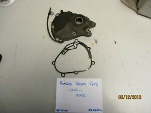 Piaggio-Vespa-Gt-GTS-transmission-cover-and-gasket