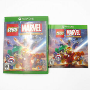 XBOX-ONE-LEGO-MARVEL-SUPER-HEROES-Disc-amp-Case-Booklet-Tested-amp-Works