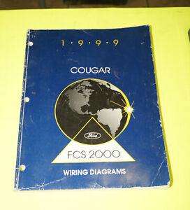 1999 Ford Mercury Cougar OEM EVTM Factory Wiring Diagrams ...