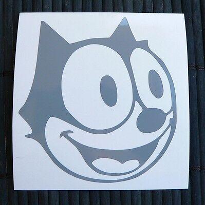 adesivo GATTO gattino wall sticker decal vynil vinile cat auto moto kitty sweet