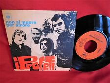I PROFETI Non si muore per amore 45rpm 7' PS 1970 ITALY MINT-
