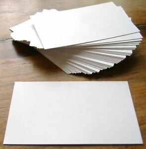 Details about 100 Blank Flash Cards, Revision / Learning Aids  Dyslexia  Aids  Student Tool