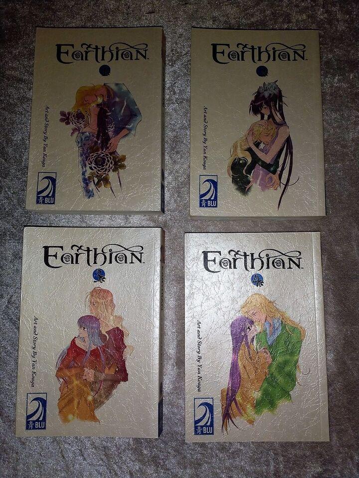 Earthian, Tegneserie