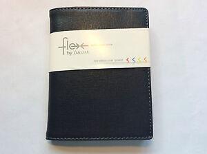 Filofax-Flex-Pocket-notebook-cover-first-edition-Black