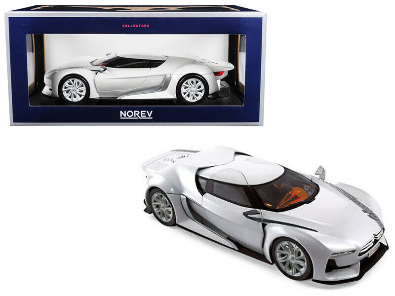 1 18 Norev Citroen concepto GT Salon de PARIS 2008 Diecast blancoa blancoo 181610