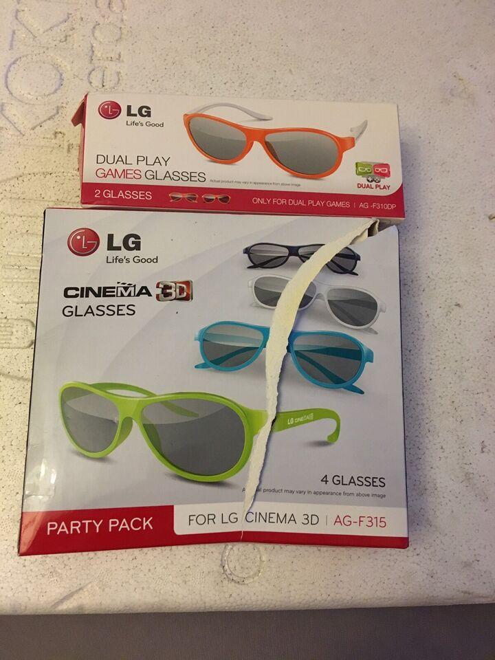 LG Dual play briller 2 stk, LG, Perfekt