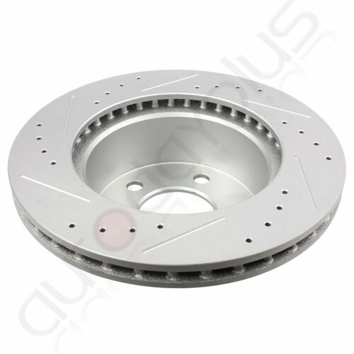 For Jeep Cherokee Grand Cherokee Front Brake Rotors Ceramic Pads Drill Slot
