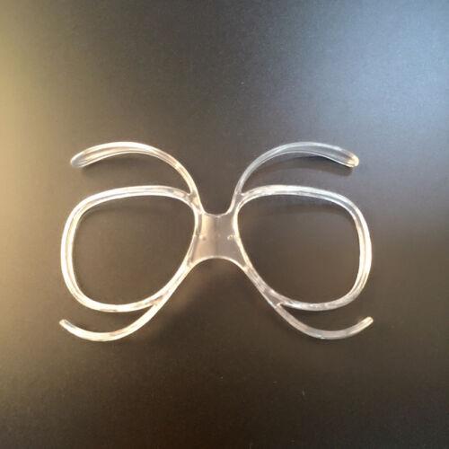 Flexible Ski Motorcycle Goggles Rx Insert Optical Prescription Adaptor Frame