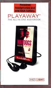 War-Dogs-by-Guy-Lawson-read-by-Jason-Culp-Unabridged-Playaway-Audio-Book