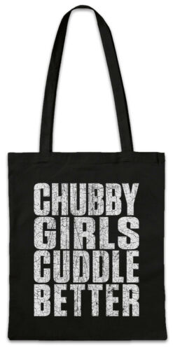 Chubby Girls Guddle Better Shopper Shopping Bag Fun Chubby Pride fat large big