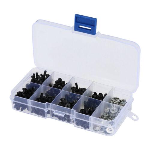 180Pcs//set Special Screw Bolt Box Repair Tool for 1//10 HSP  SCX10 RC Car
