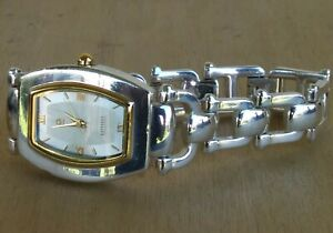 Ecclissi Solid Sterling Silver Bracelet Watch Total Weight 65 grs New Battery