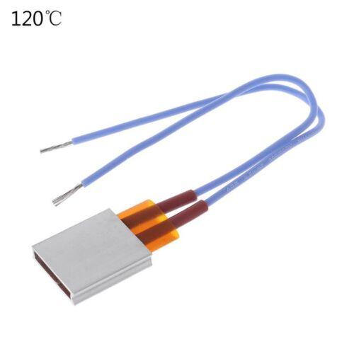 AC//DC 12V Thermostatic Ceramic PTC Heating Plate Constant Temperature Heater New