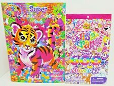 4-8 Years Lisa Frank Tiger Art Cover Coloring and Activity Book with 100 Stickers BENDON Children/'s Books