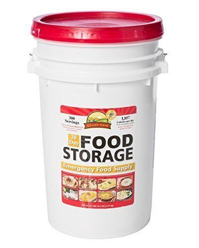 New Augason Farms   30 Day Food Storage Emergency Food Supply , Free Shipping  discounts and more