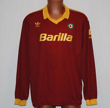 maglia roma barilla giannini 1991 1992 adidas home anni 90 barilla vintage
