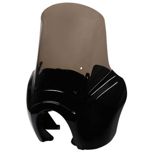 Front Upper Fairing Windshield Windscreen For Harley Dyna Street Bob FXDB 07-17