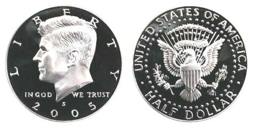 2005 S KENNEDY HALF Choice DCAM PROOF FROM PROOF SET