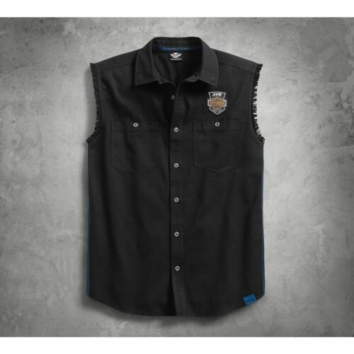 Harley-Davidson Men/'s 115th Anniversary Blowout Limited Edition Shirt 99004-18VM