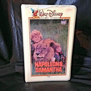 Napoleon-and-Samantha-VHS-1999-Disney-Rare-Cover-Art