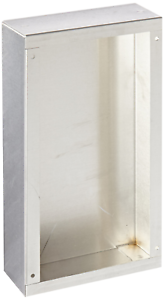 """BUD Industries AC-403 Aluminum Chassis 9-1//2/"""" Length x 5/"""" Width x 2/"""" Height,"""