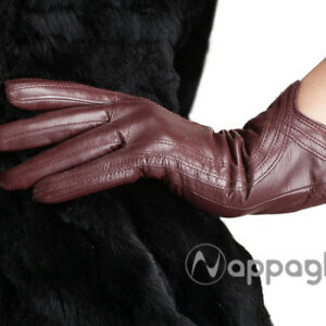 5d1739a8a85af Image is loading Nappaglo-Women-100-Import-Nappa-Lambskin-GENUINE-Leather-
