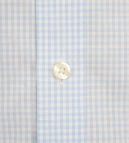 Ex Store Mens Pure Cotton Slim Fit Single Cuff Shirt